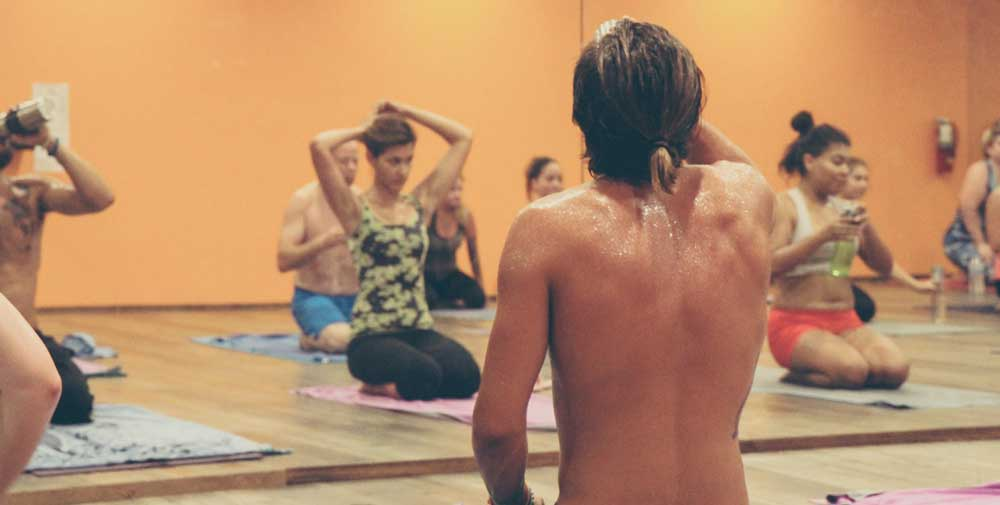 How to start hot yoga at home ?